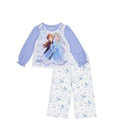Frozen 2-Piece Toddler Girls Pajama Set