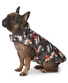 Camo-Print Dog Coat
