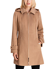 Michael Michael Kors Hooded Coat, Created for Macy's