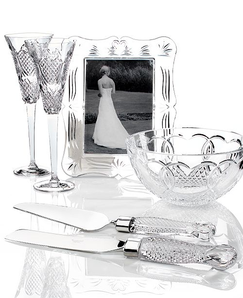 Waterford Crystal Gifts, Wedding Collection - Macy\'s
