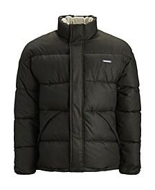 Men's High Neck Padded Puffer Jacket