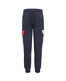 Little Boys Cargo Color Blocked Jogger
