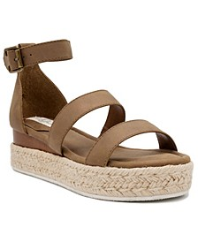Women's Tahini Flatform Sandals