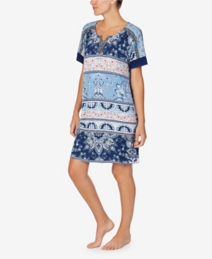 Ellen Tracy WOMEN'S SHORT SLEEVE TUNIC