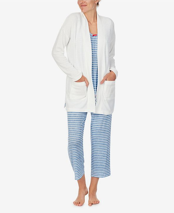 Ellen Tracy Women's Slouchy Lounge Cardigan