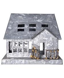 Medium Galvanized Metal House