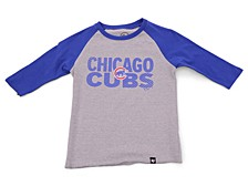 Youth Chicago Cubs Fast Track Raglan T-Shirt