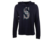 '47 Brand Men's Seattle Mariners Imprint Club Long Sleeve Hooded T-Shirt