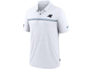 Nike Carolina Panthers Men's Dri-Fit Short Sleeve Polo