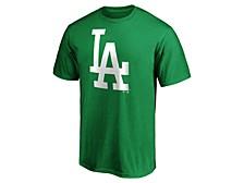 Men's Los Angeles Dodgers St. Pattys Bold Logo T-Shirt