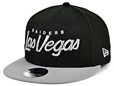 Las Vegas Raiders Script 9FIFTY Cap