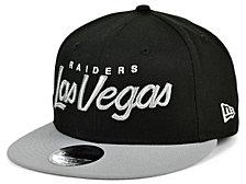 New Era Las Vegas Raiders Script 9FIFTY Cap