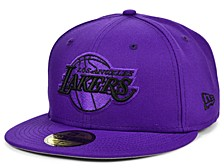 Los Angeles Lakers Teamout Pop 59 FIFTY-FITTED Cap
