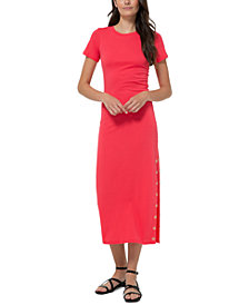 Michael Michael Kors Plus Size Maxi T-Shirt Dress