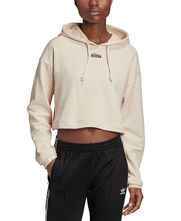 adidas - Originals Cotton Cropped Hoodie