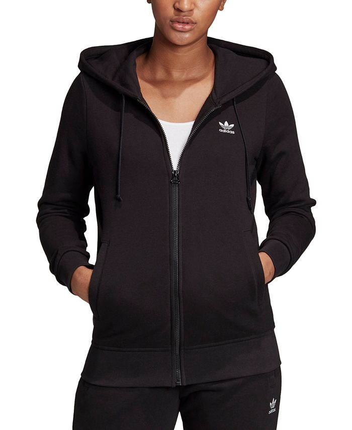 adidas - French Terry Logo Zip Hoodie