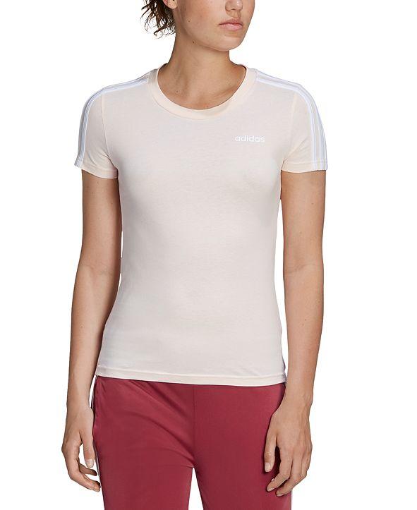 adidas Women's Cotton 3-Stripes T-Shirt