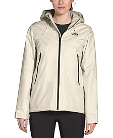 The North Face Women's Inlux Hooded Fleece-Lined Raincoat