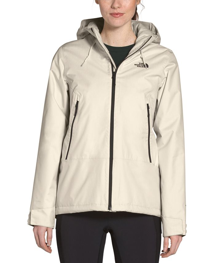 The North Face - Inlux Hooded Fleece-Lined Raincoat