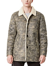 Men's Classic-Fit Faux-Shearling Rancher Jacket, Created for Macy's