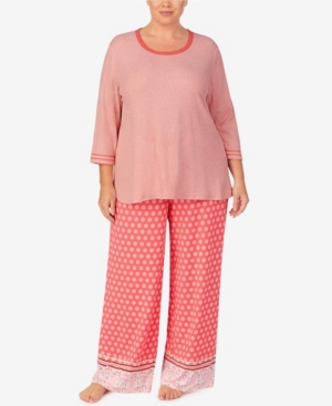 Ellen Tracy WOMEN'S PLUS SIZE PALAZZO PAJAMA SET