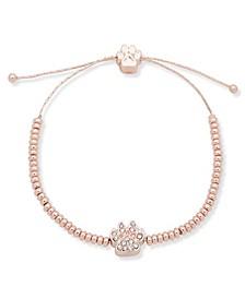 Pave Paw Slider Bracelet