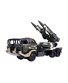 Mag-Genius Big-Daddy Army-Inspired Series Twin Anti Aircraft Missiles Toy