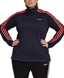 Essentials Plus Size Fleece Track Jacket