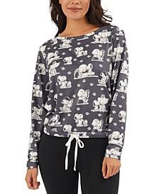 Vintage Snoopy Dog Lover Pajama Top