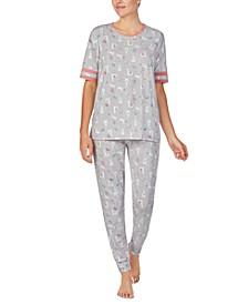 Llama-Print Pajama Set