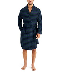 Men's Plaid Robe, Created for Macy's