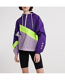 Women's Urban Spliced Overhead Jacket