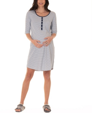 Maternity and Nursing Sleep Dress