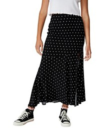 Tahli Split Midi Skirt