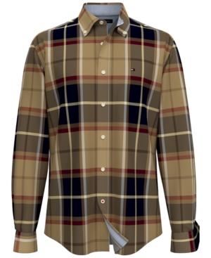 Tommy Hilfiger Men's Aime Tartan Shirt