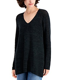 Straight V-Neck Tunic