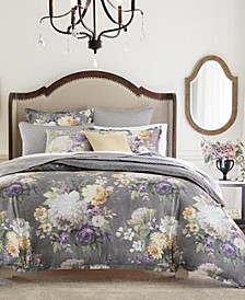 Classic Grand Bouquet King Duvet, Created for Macy's