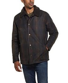 Men's Tartan Plaid Wax Jacket