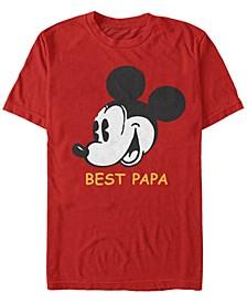 Men's Best Papa Short Sleeve T-Shirt