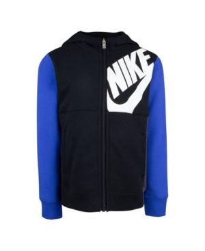 Nike LITTLE BOY LIGHTWEIGHT FLEECE FULL-ZIP HOODIE
