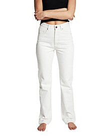 Women's Long Straight Leg Denim Jeans