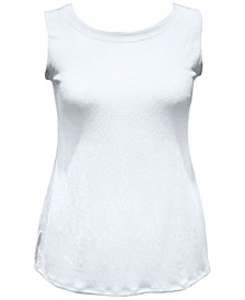 Textured Button Tank Top, Created for Macy's