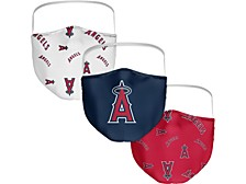 Los Angeles Angels 3-Pk. Face Mask
