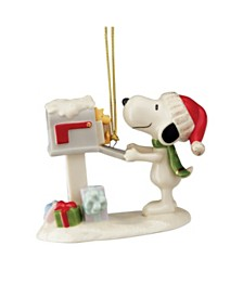 2020 Snoopy's Letter to Santa Ornament