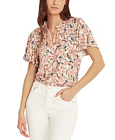Flutter-Sleeve Top