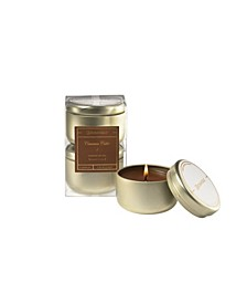 Cinnamon Cider Boxed Tin Votive Candle Set