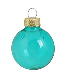 Clear Christmas Ornaments, Box of 40