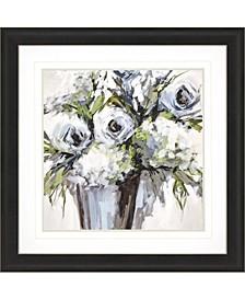 "Serene Blossoms 2 Framed Wall Art, 35"" x 35"""