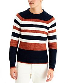 Men's Regular-Fit Brushed Stripe Sweater