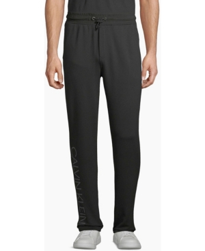 Calvin Klein Men's Graphic Drawstring Logo Sweatpants